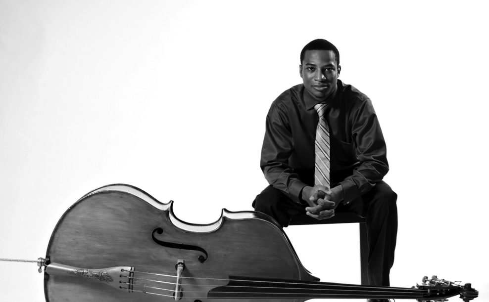 Xavier Foley, double bass, and Sejoon Park, piano