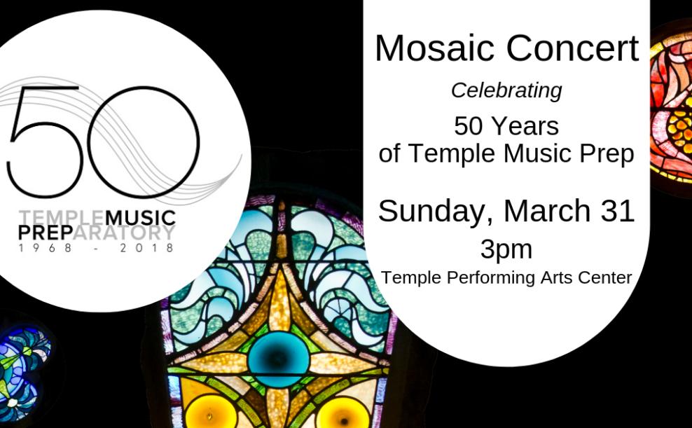 Mosaic Concert