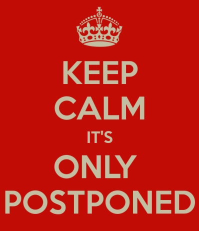 Concert & Event Postponements